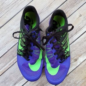 Nike Flywire Spike Track Shoes Youth 4 EUC